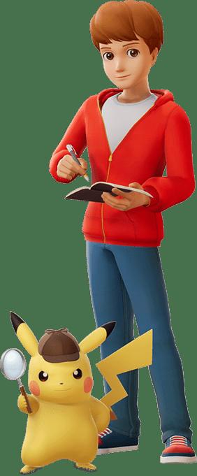 Héros Détective Pikachu