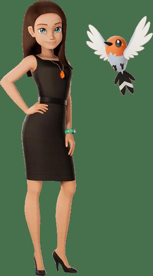 Amanda Blackstone Détective Pikachu