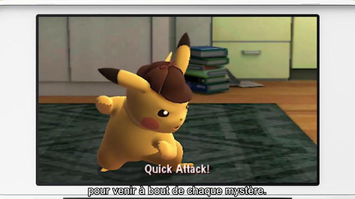 Pré-commande de Détective Pikachu disponible sur le Nintendo eShop