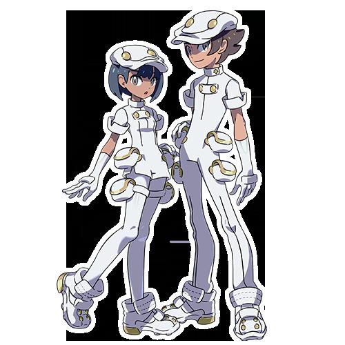 Employés Fondation Aether Pokémon Soleil et Lune