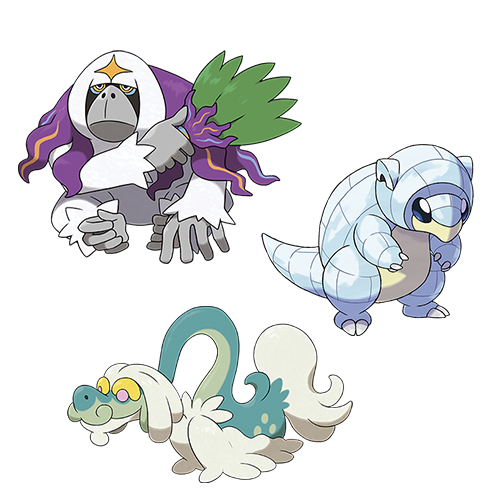 Pokémon exclusifs à Pokémon Lune