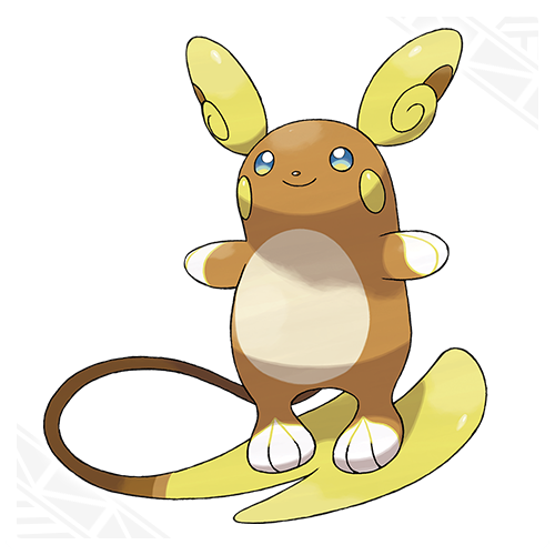 Raichu Aloa Pokémon Soleil et Lune