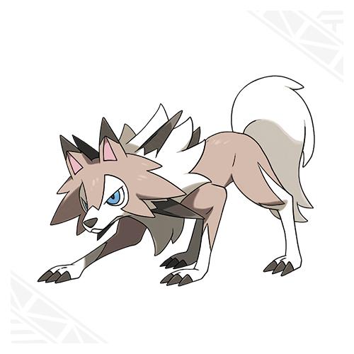 Lougaroc forme diurne Pokémon Soleil et Lune