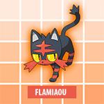 Flamiaou Pokémon Soleil et Lune