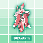 Floramantis Pokémon Soleil et Lune