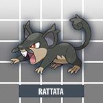 Rattata d'Alola Pokémon Soleil et Lune