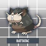 Rattatac d'Alola Pokémon Soleil et Lune
