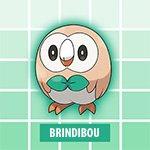 Brindibou Pokémon Soleil et Lune