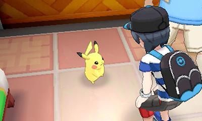 Première quête démo Pokémon Soleil et Lune