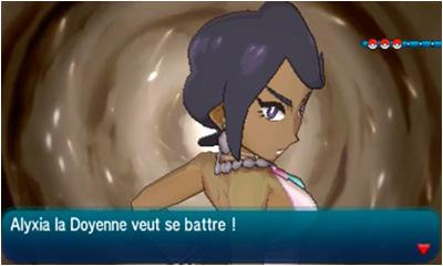 Doyen Alyxia  Pokémon Soleil et Lune