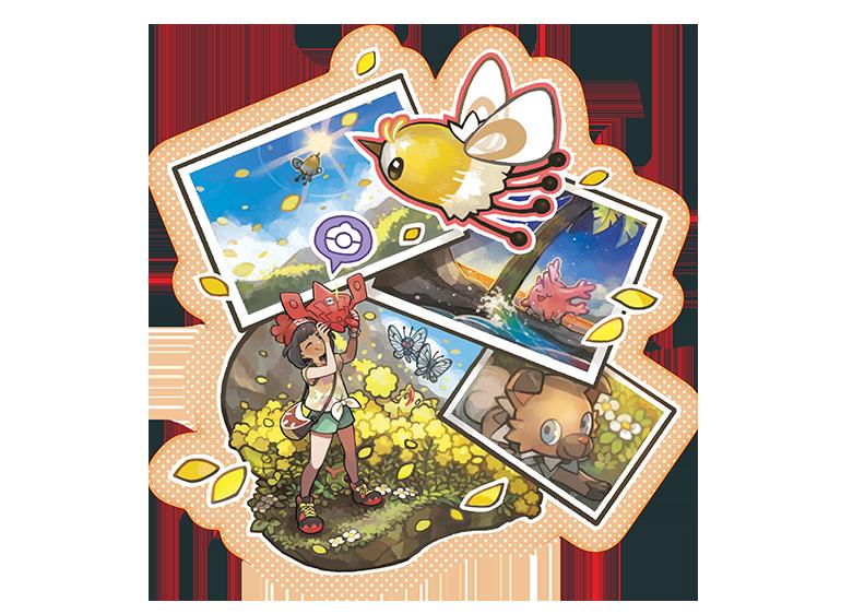 Pokéscope Pokémon Soleil et Lune