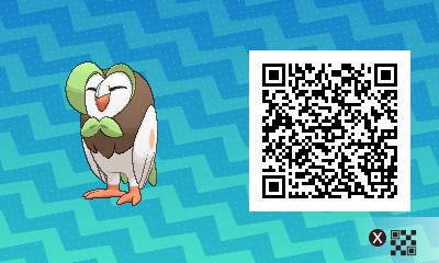 qrCode de Efflèche Pokémon Soleil et Lune