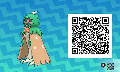 qrCode de Archéduc Pokémon Soleil et Lune