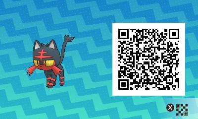 qrCode de Flamiaou Pokémon Soleil et Lune