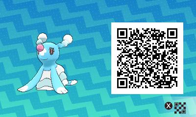 qrCode de Otarlette Pokémon Soleil et Lune