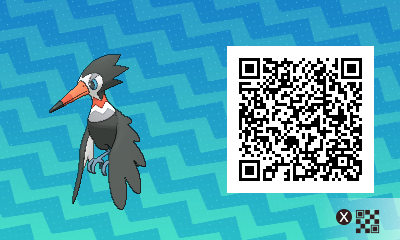qrCode de Piclairon Pokémon Soleil et Lune