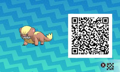 qrCode de Manglouton Pokémon Soleil et Lune