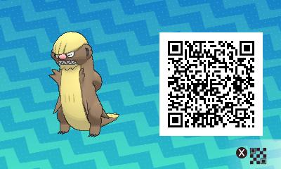 qrCode de Argouste Pokémon Soleil et Lune
