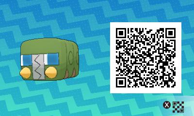 qrCode de Chrysapile Pokémon Soleil et Lune