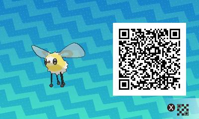 qrCode de Bombydou Pokémon Soleil et Lune