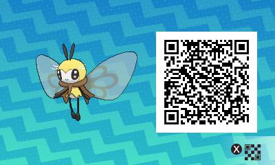 qrCode de Rubombelle Pokémon Soleil et Lune