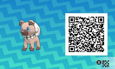 qrCode de Rocabot Pokémon Soleil et Lune