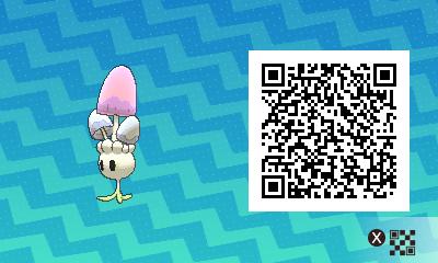 qrCode de Spododo Pokémon Soleil et Lune
