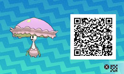 qrCode de Lampignon Pokémon Soleil et Lune