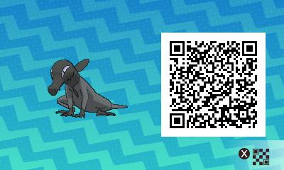 qrCode de Tritox Pokémon Soleil et Lune