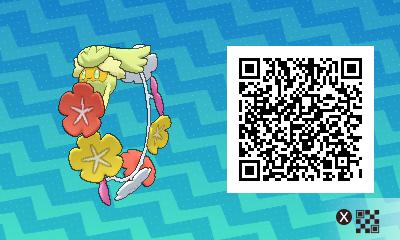 qrCode de Guérilande Pokémon Soleil et Lune