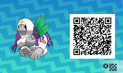 qrCode de Gouroutan Pokémon Soleil et Lune