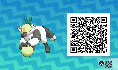 qrCode de Quartermac Pokémon Soleil et Lune