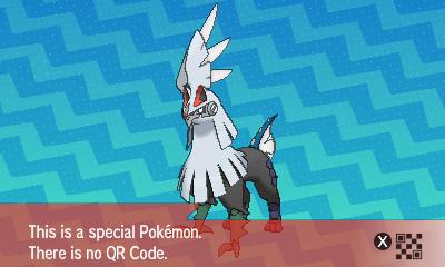 qrCode de Silvallié Pokémon Soleil et Lune
