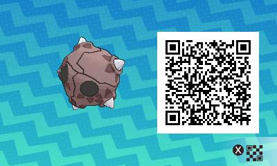 qrCode de Météno Pokémon Soleil et Lune