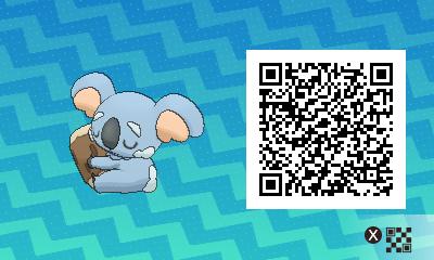 qrCode de Dodoala Pokémon Soleil et Lune