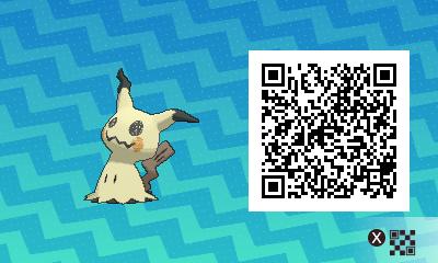 qrCode de Mimiqui Pokémon Soleil et Lune