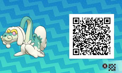 qrCode de Draïeul Pokémon Soleil et Lune