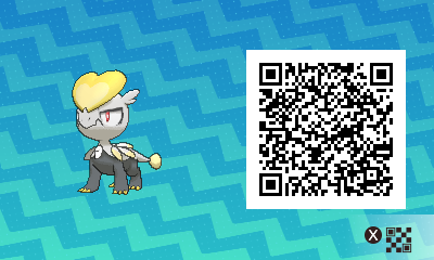 qrCode de Bébécaille Pokémon Soleil et Lune