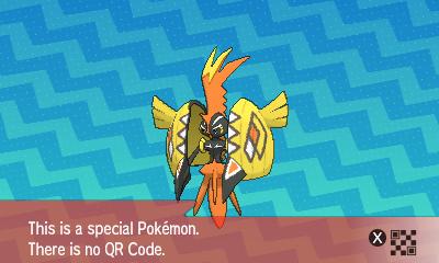 qrCode de Tokorico Pokémon Soleil et Lune