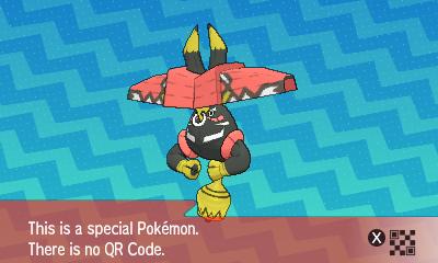 qrCode de Tokotoro Pokémon Soleil et Lune