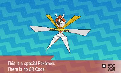 qrCode de Katagami Pokémon Soleil et Lune