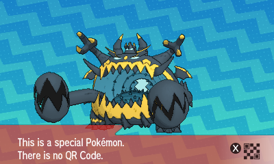 qrCode de Engloutyran Pokémon Soleil et Lune