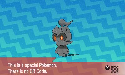 qrCode de Marshadow Pokémon Soleil et Lune