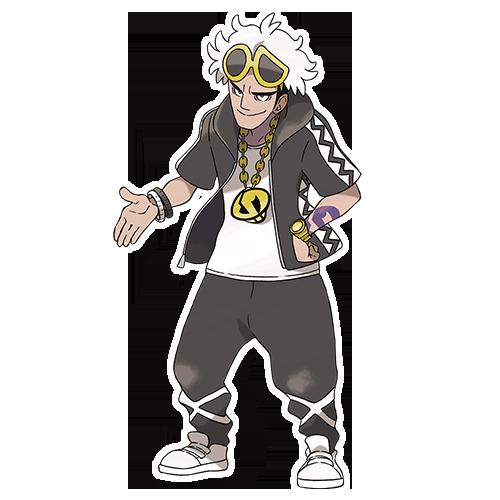 Guzma Team Skull  Pokémon Soleil et Lune