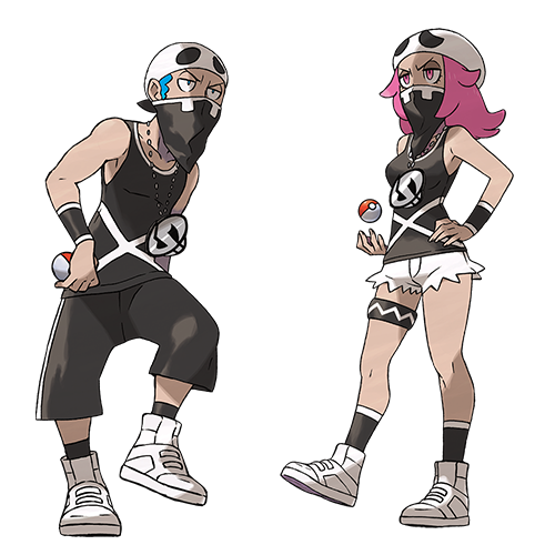 Sbires Team Skull  Pokémon Soleil et Lune