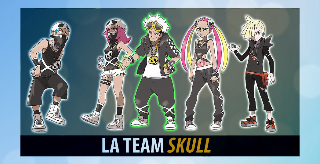 Team Skull  Pokémon Soleil et Lune