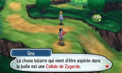 Cellules de Zygarde Pokémon Soleil et Lune