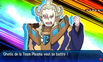 Ghétis Team Plasma Pokémon Ultra-Soleil et Ultra-Lune