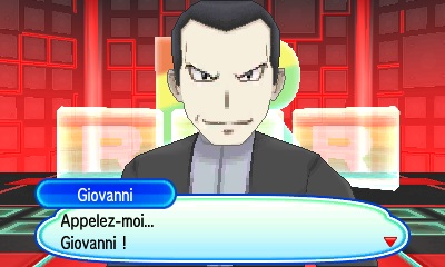Giovanni Team Rainbow Rocket Pokémon Ultra-Soleil et Ultra-Lune