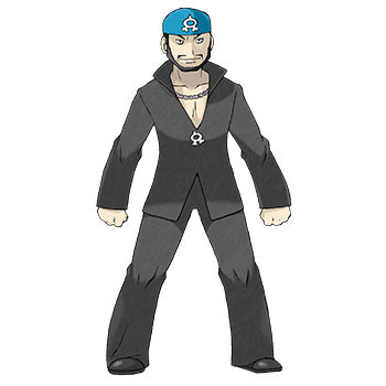 Arthur Team Aqua Pokémon Ultra-Soleil et Ultra-Lune